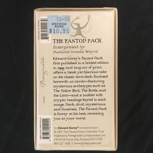 Fantod Pack - Edward Gorey Deck (back)