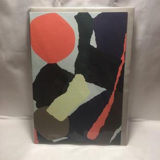 Orange Circle Abstract - Wrap