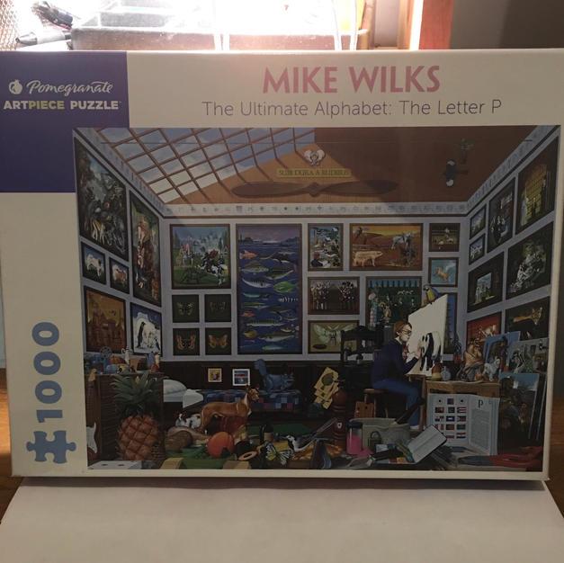 Ultimate Alphabet Letter P - Mike Wilks