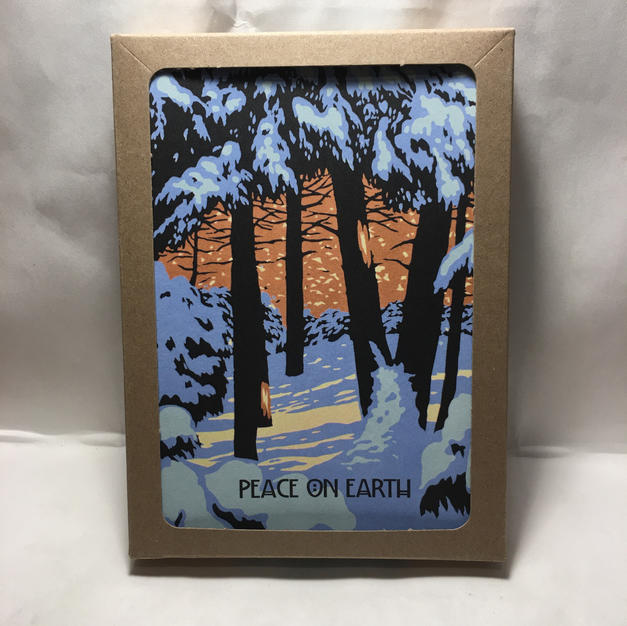 Peace on Earth Forest - Laura Wilder - Holiday Cards