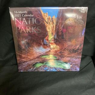 2021 16-Month Wall Calendar - National Parks