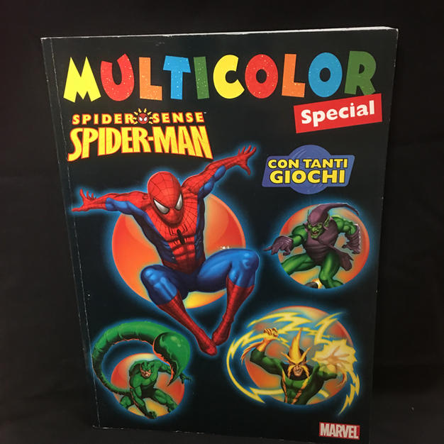 Spider-Man Multicolor Activity Book (limited text is in Italian)