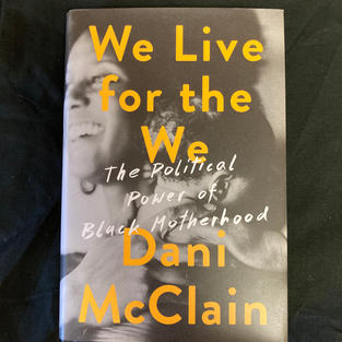 We Live for the We by Dani McClain