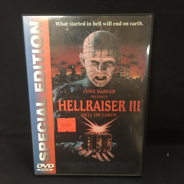 DVD - Hellraiser III
