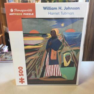 Harriet Tubman, William H Johnson