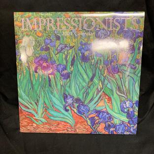 2021 Wall Calendar - Impressionists