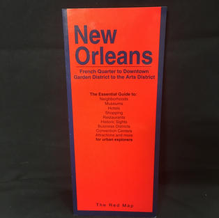 Map - Red New Orleans