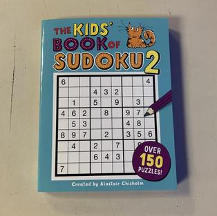 Kids' Book of Sudoku 2 by Alastair Chisholm