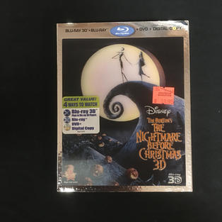 Blu-Ray / DVD Combo - The Nightmare Before Christmas 3D