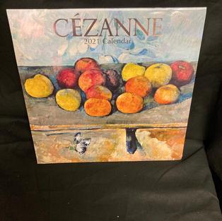 2021 Wall Calendar - Cezanne