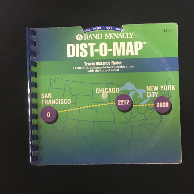 Rand McNally Dist-O-Map