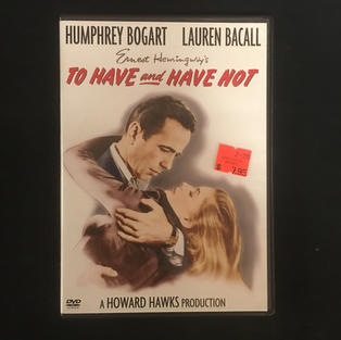 DVD - To Have and Have Not