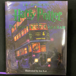 Harry Potter and the Prisoner of Azkaban (Illustrated) by J K Rowling