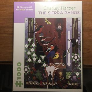 Sierra Range - Charley Harper
