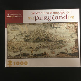 Anciente Mappe of Fairyland
