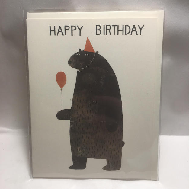 Klassen Birthday Bear - Red Cap Cards