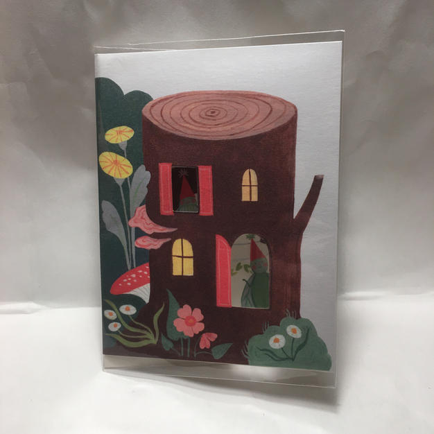 Stump House Birthday - Red Cap Cards (front)