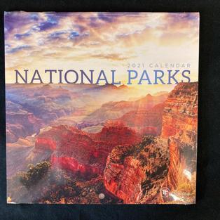 2021 Mini Calendar - National Parks