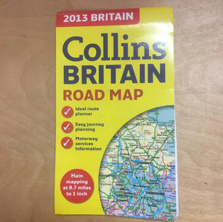 Map - Collins Britain Road Map
