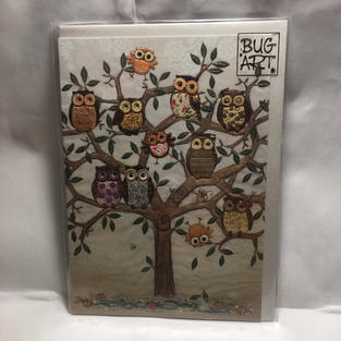 Tree of Owls - Bug Art