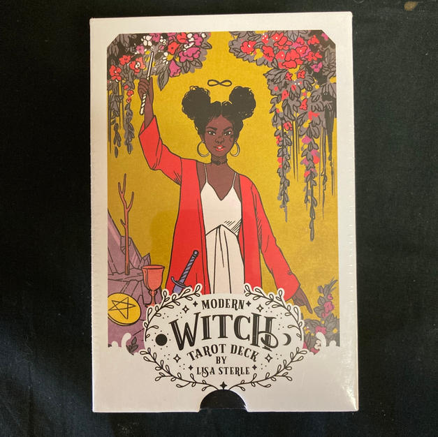 The Modern Witch Tarot Deck by Lisa Steele