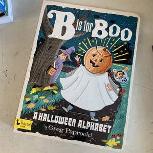 B is for Boo by Greg Paprocki