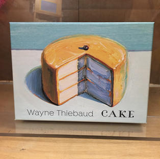 Cake - Wayne Thiebaud (front)