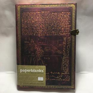 Leonardo DaVinci - Unlined Medium Paperblanks Journal