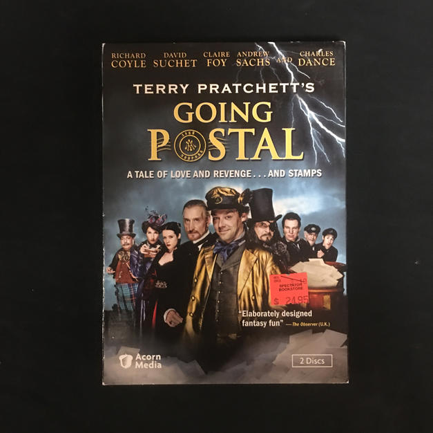 DVD - Terry Pratchett Going Postal