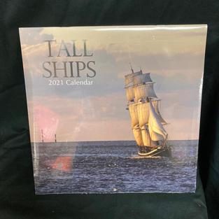 2021 Wall Calendar - Tall Ships