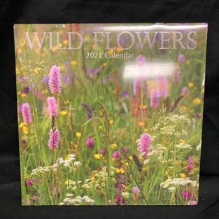 2021 Wall Calendar - Wild Flowers