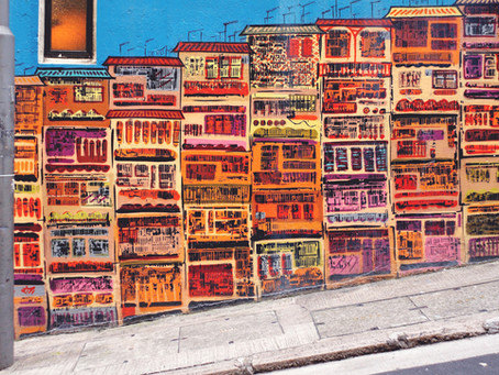 Arte urbana: iluminando o bairro