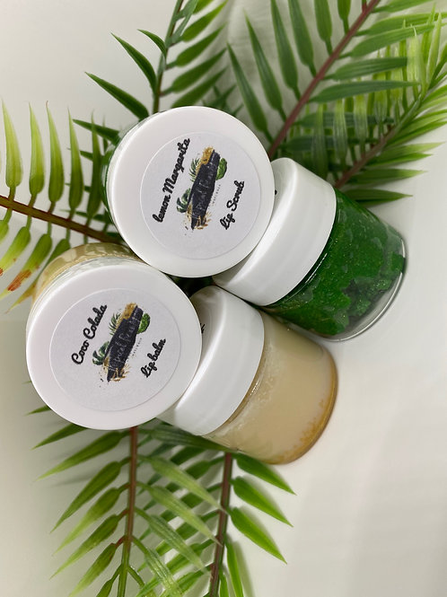 Tropical Drink Lip Butter and Scrub