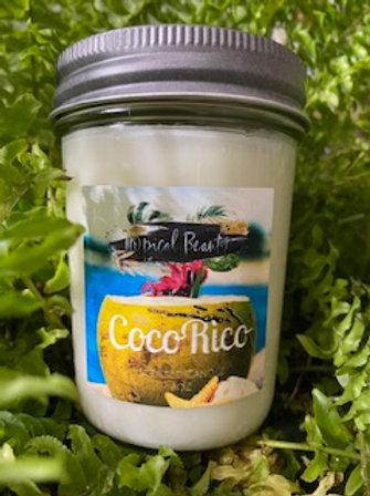 Coco Rico 8 oz Scented Candle