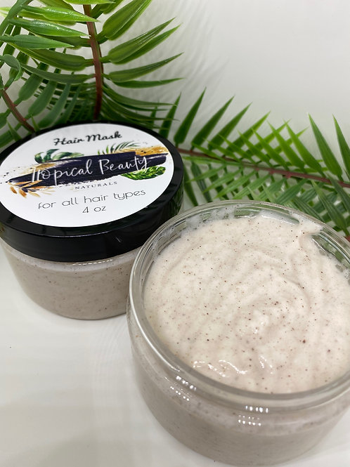 Coconut Cinnamon Hair Mask