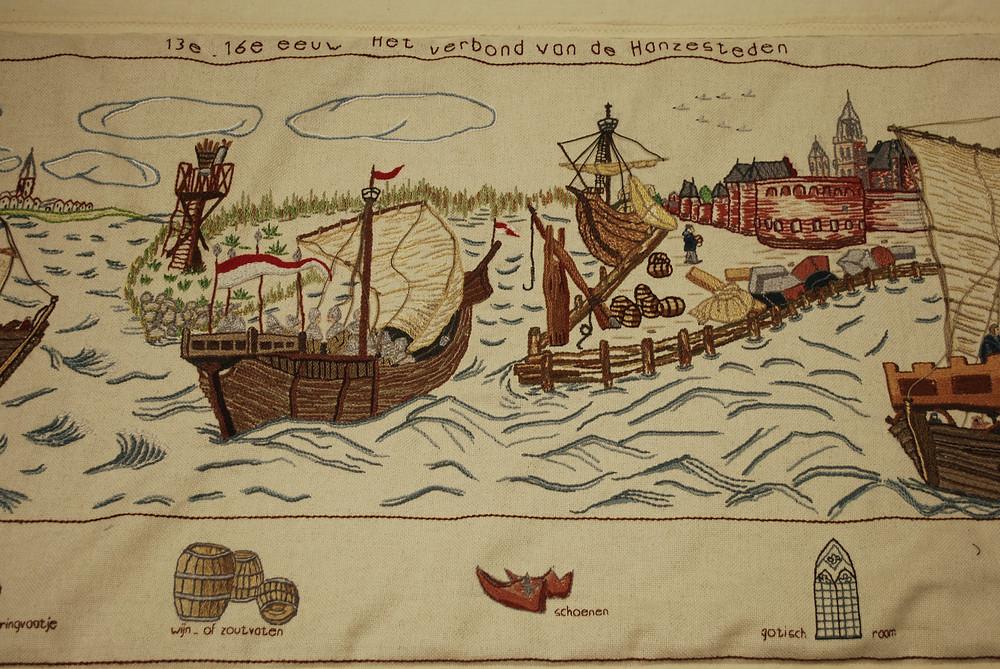 In de 13e-16e eeuw kwam het Verbond van de Hanzesteden tot stand