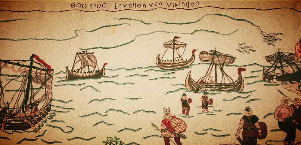 Invallen van de Vikingen, 800-1100