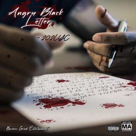 Angry Black Letter Official Cover Art.jp