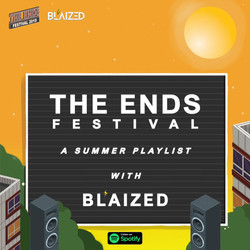 Blaized x The Ends Festival media collaboration