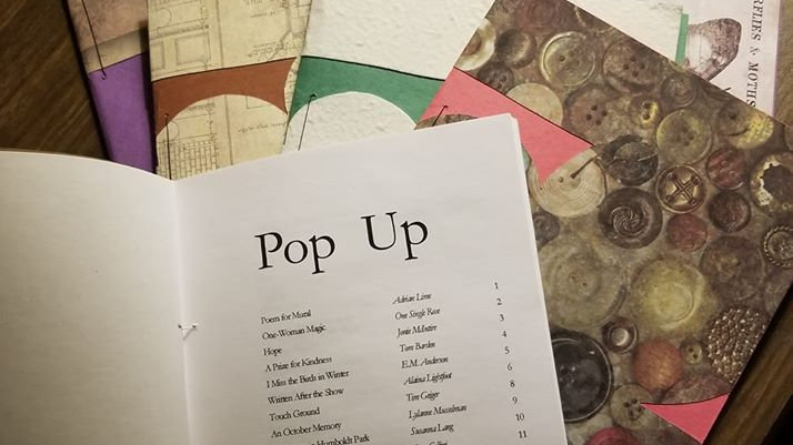 Pop Up chapbook