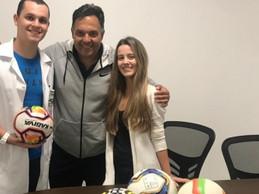 Reunião com representantes da Atlética Medicina Suprema TR