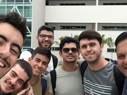 Reunião com estudantes Suprema TR