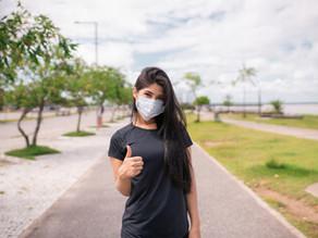 """Palestra """"Utilização de máscara na prática de exercício físico"""""""