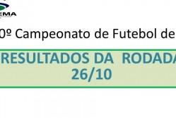 10º Campeonato de Futebol de 7 da Suprema - Resultado da rodada 26/10