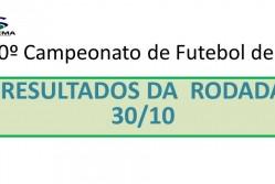 10º Campeonato de Futebol de 7 da Suprema - Resultado da rodada 30/10