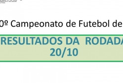 10º Campeonato de Futebol de 7 da Suprema - Resultado da rodada 20/10