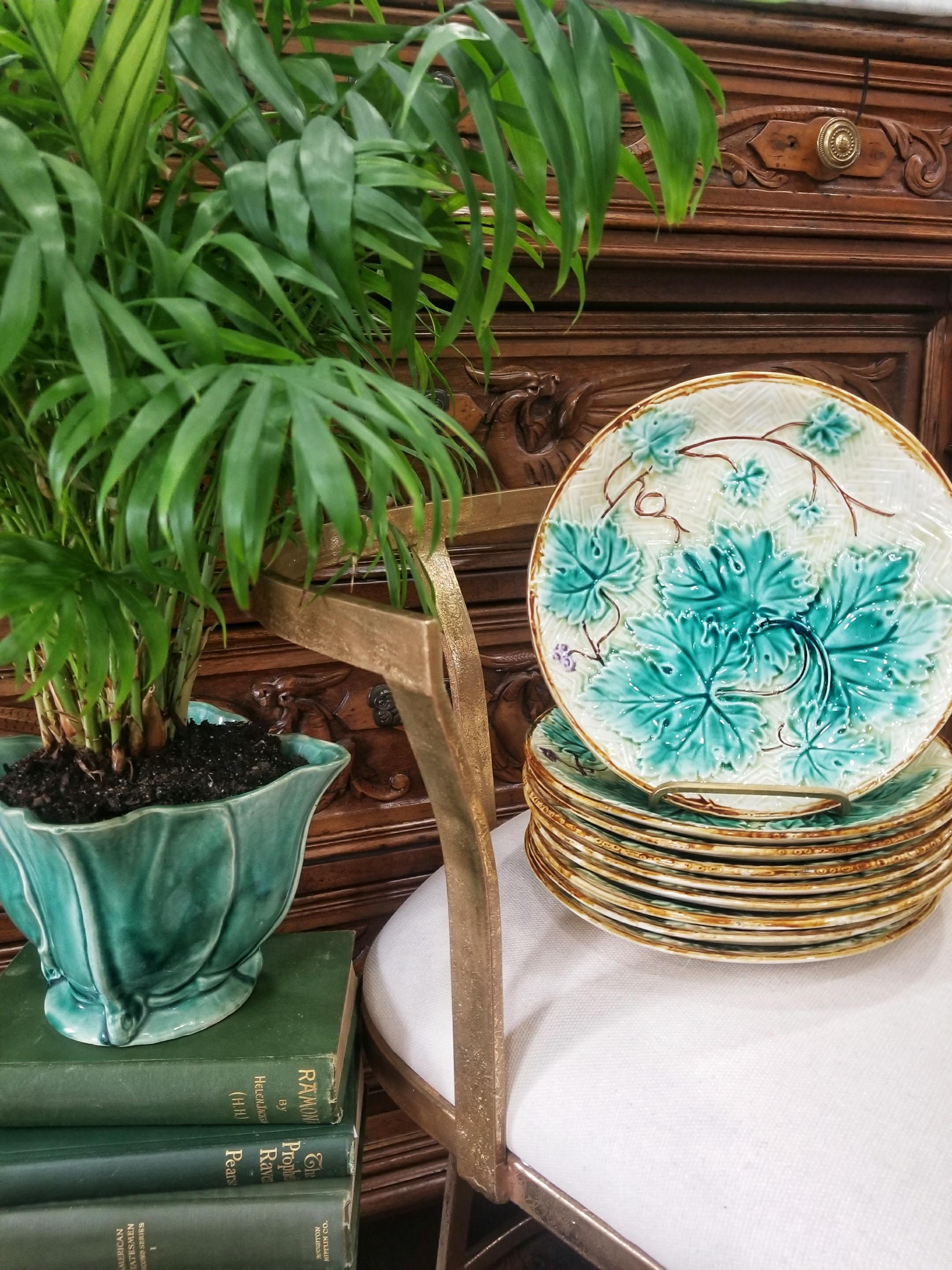 French Majolica