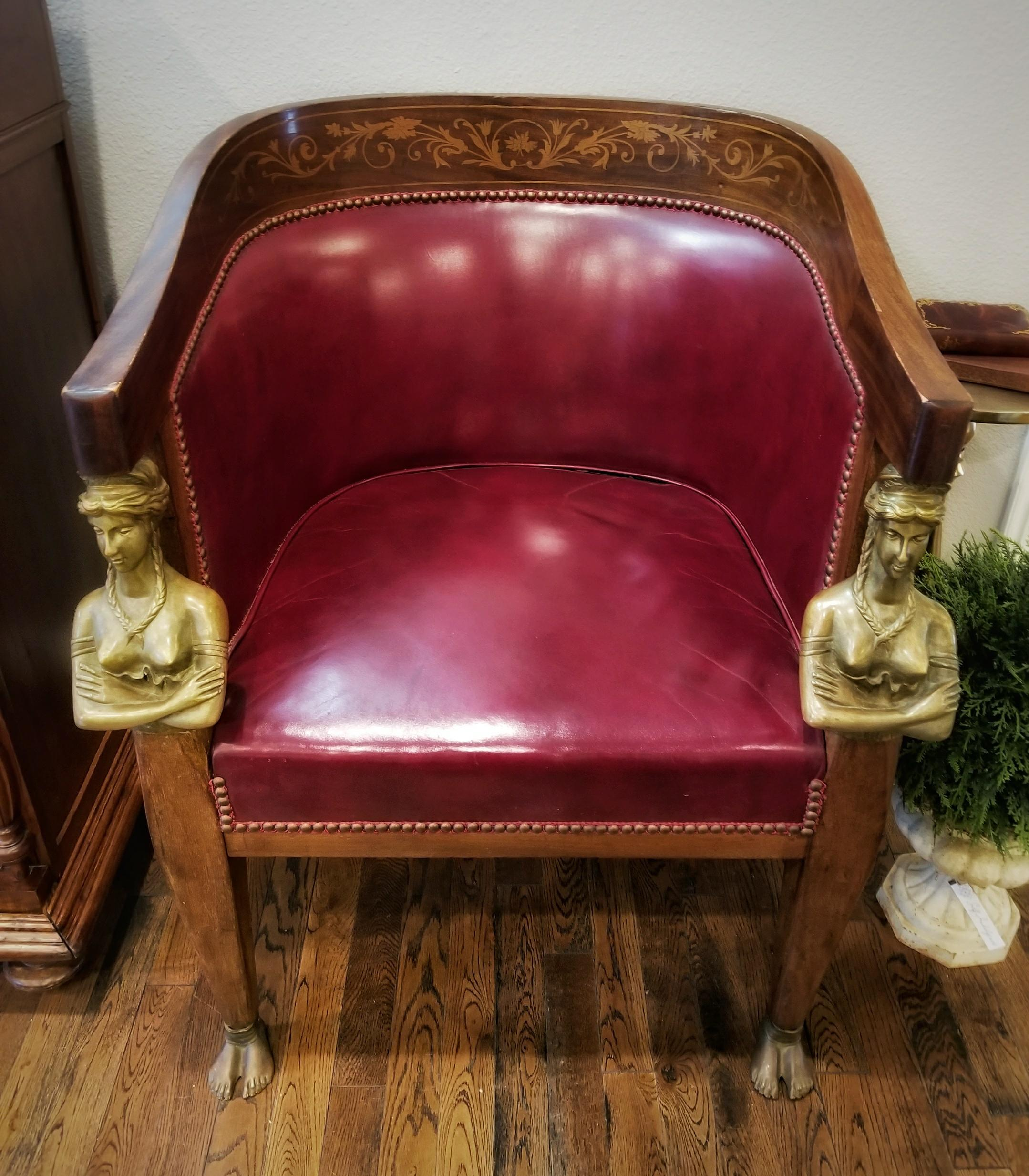 Empire style Tub Chair