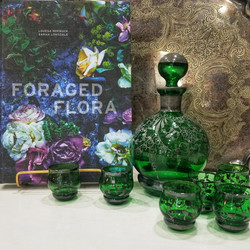 Venetian Glass Decanter set