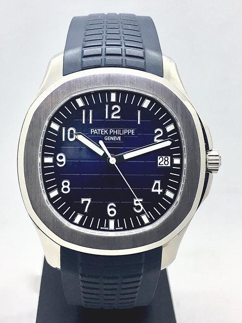 Aquanaut Blå skive, Hvidguld 5168G-001